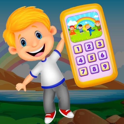 Fun Baby Play Rhyme Toy  Phone