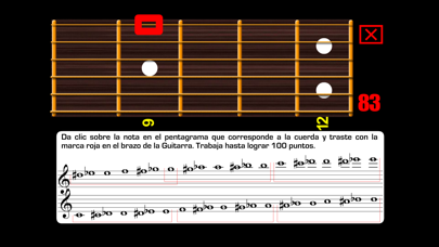 Screenshot for Leer Partitura de Guitarra PRO in Colombia App Store