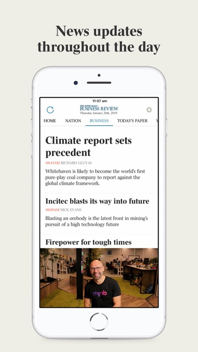 The Australian review screenshots