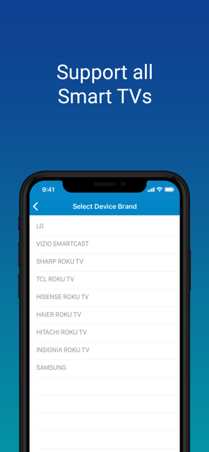 ‎SURE Universal Smart TV Remote Screenshot