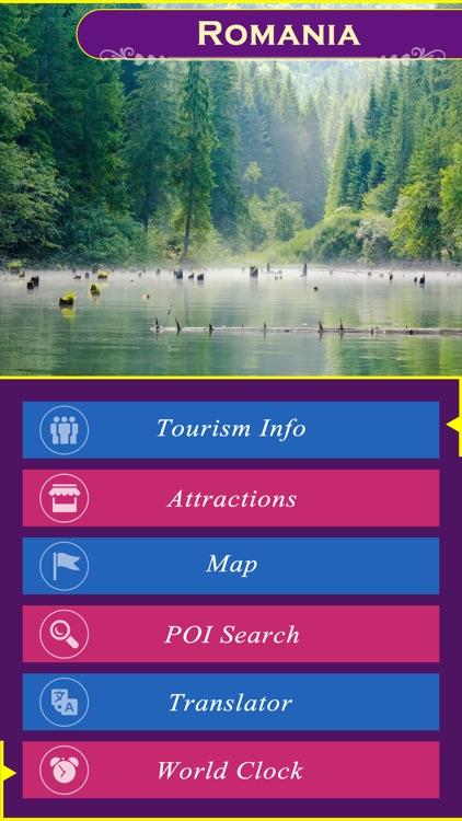 Romania Tourist Attractions Map Tourist Destination In The World