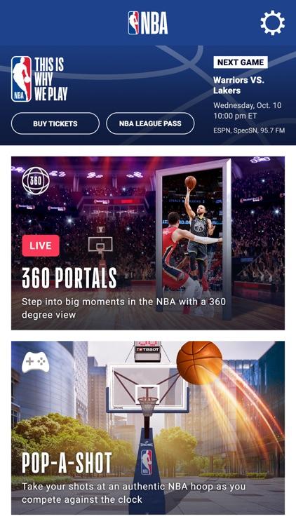 NBA AR Basketball screenshot-0