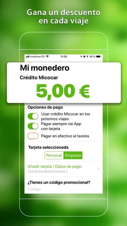 Micocar Taxi Discounts App screenshot-3