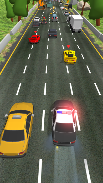 Police Chase - Hot Highways screenshot 7