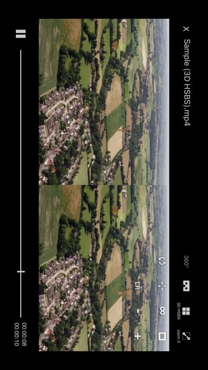 VRPlayer Pro : 2D 3D 360°Video screenshot-4