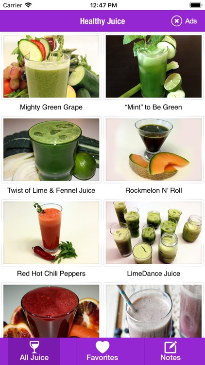 Healthy Fruit Juices Recipe