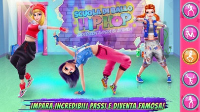 Screenshot of Scuola di ballo hip hop2