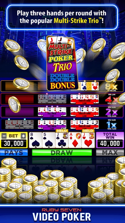Video Poker by Ruby Seven screenshot-7