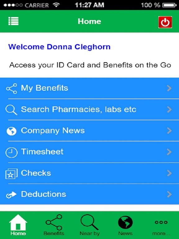 Benefits On demand screenshot #4