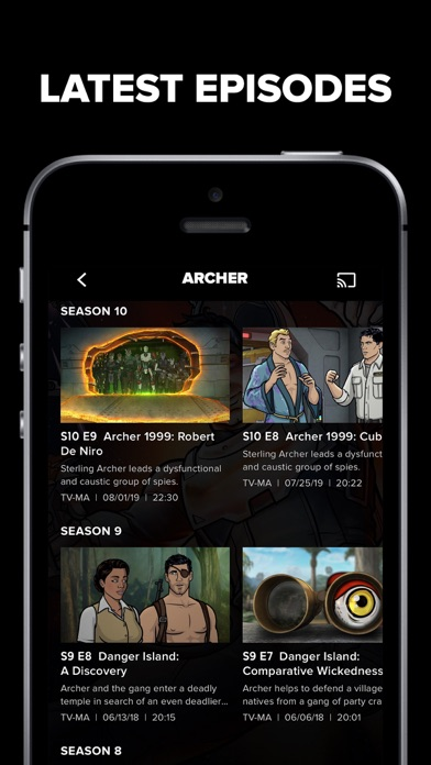 FXNOW: Movies, Shows & Live TV Screenshot