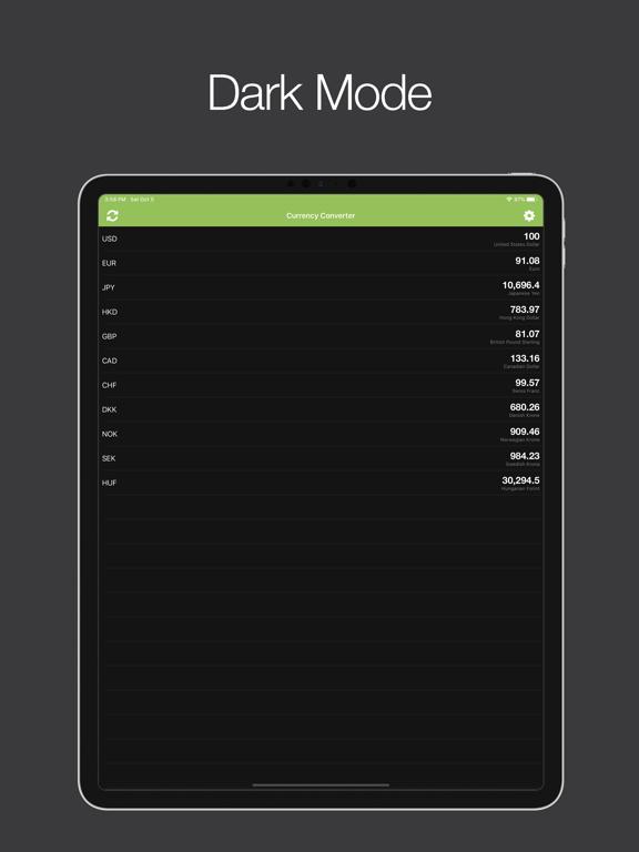 Valuta+ (Currency Converter) screenshot