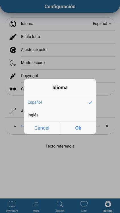 Himnario Lldm Inglés - Español screenshot-7