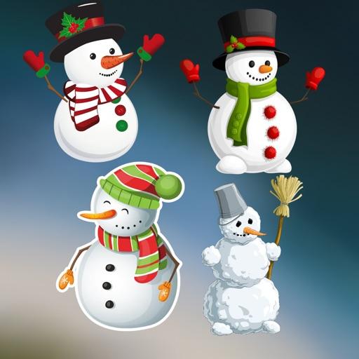 Snow man Stickers HD