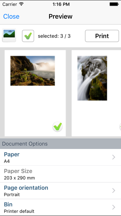 Скриншот №3 к PrinterShare