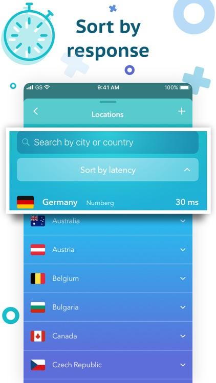 Secure VPN & Proxy by Snowd screenshot-4