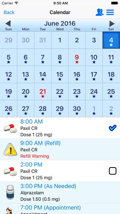 Screenshot for Lægemidler, Påmindelse Medicin in Denmark App Store