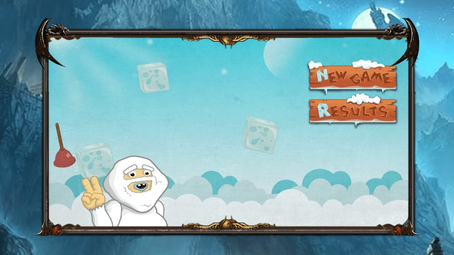 The Foraging Ice Monster App 截图