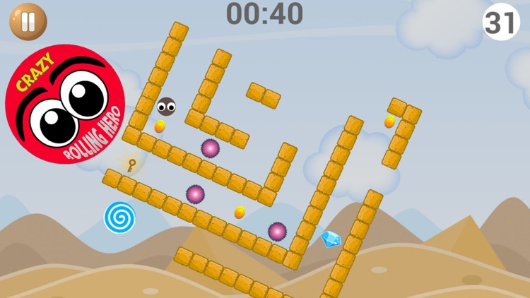 Crazy Rolling Hero screenshot-3