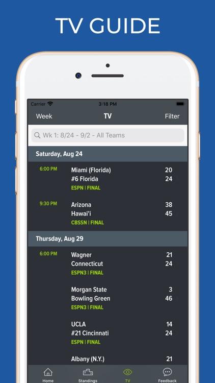 Utah Football Schedules screenshot-6