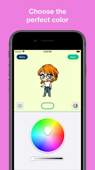 My Chibi - Widget game screenshot 2