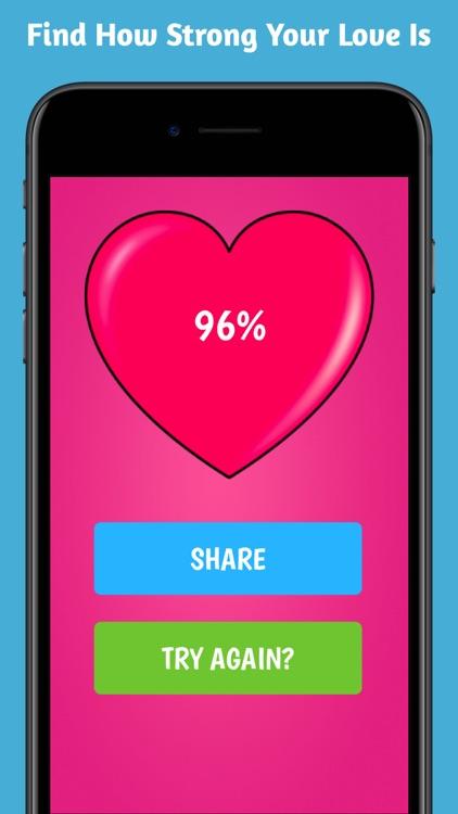 Love Test - Match Tester Quiz