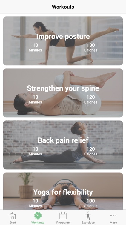 Good Posture for Healthy Spine