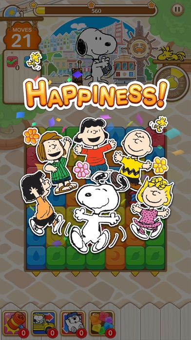 SNOOPY Puzzle Journey screenshot 1