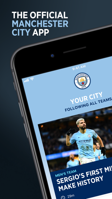 Screenshot for Manchester City Official App in United States App Store