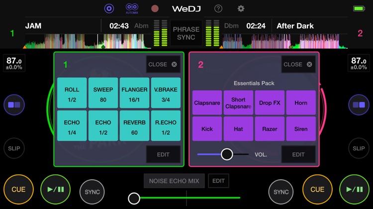 WeDJ for iPhone screenshot-4