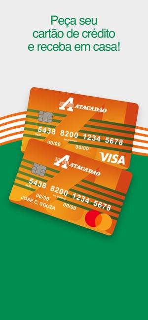 Cartão de Crédito Atacadão na App Store