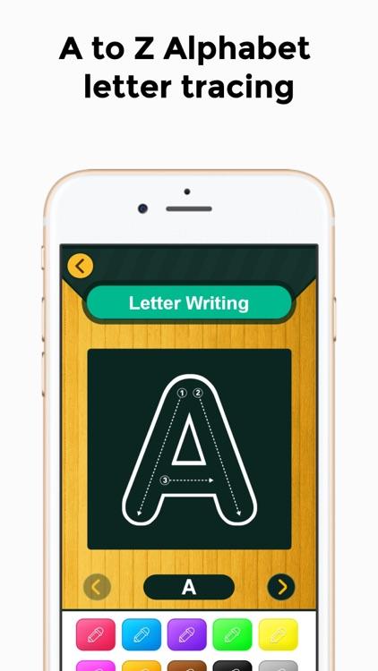 Alphabet Number Writing