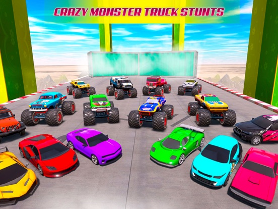 Mega Ramp Car Stunt Games 2020 screenshot 7