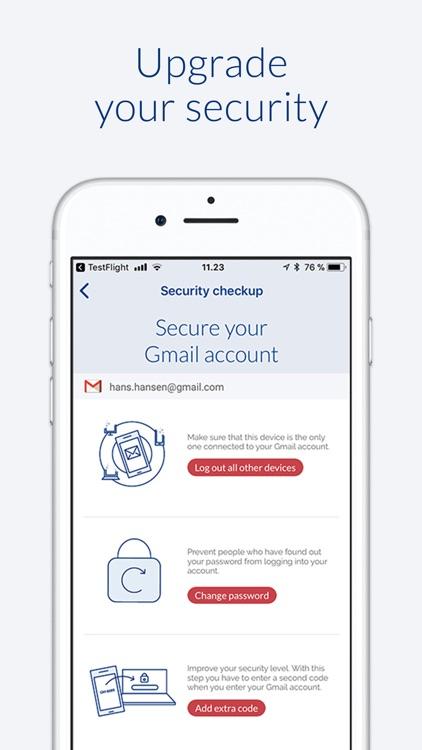 SpotTheSpy for online accounts screenshot-3