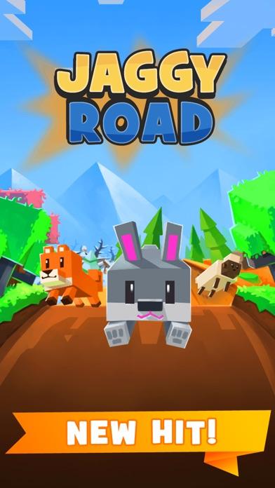 Jaggy Road - Racing Block Star app image