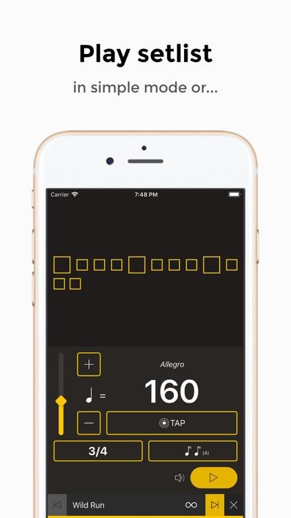 Andante Metronome - Tempo App screenshot-4
