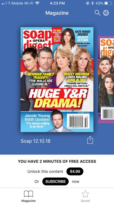 Soap Opera Digest Screenshot