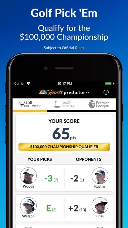 NBC Sports Predictor by Boom Shakalaka