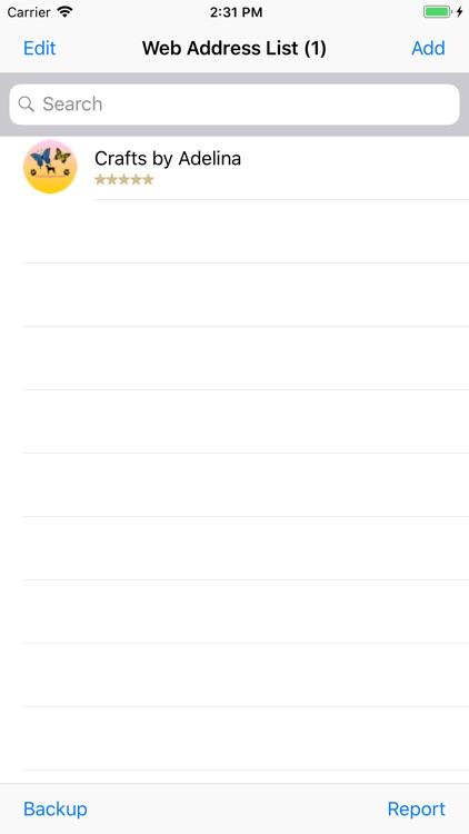 Web Address screenshot-3