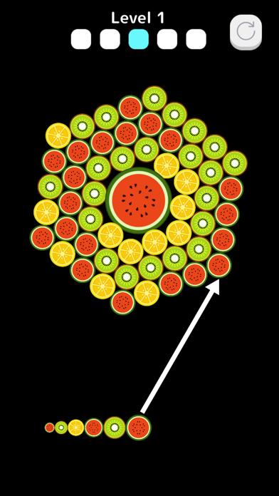 FruitsBubble screenshot 1