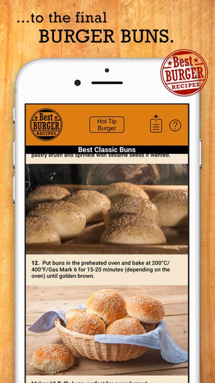 Best Burger Recipes screenshot-3