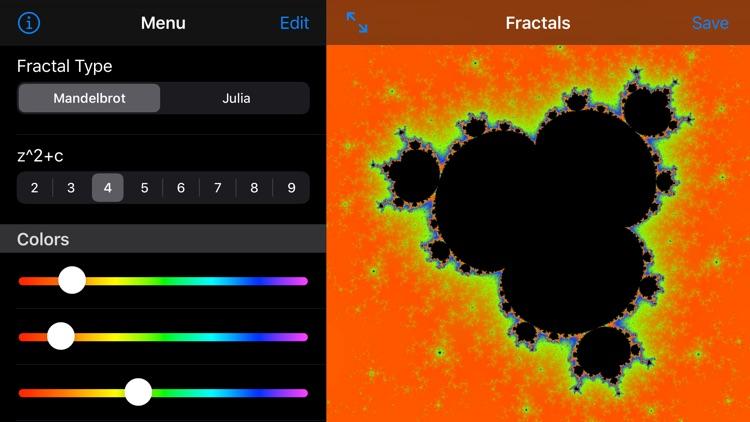Fractals screenshot-4