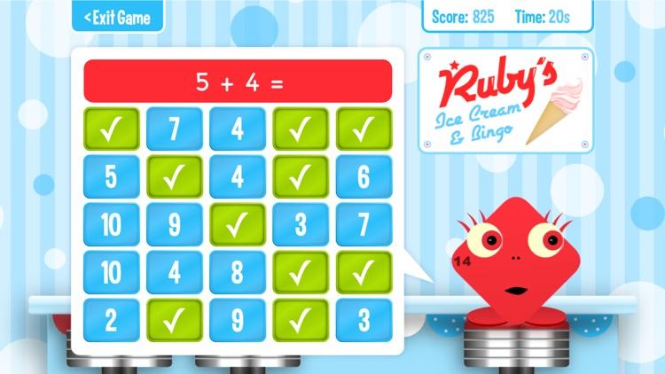 Squeebles Math Bingo screenshot-7