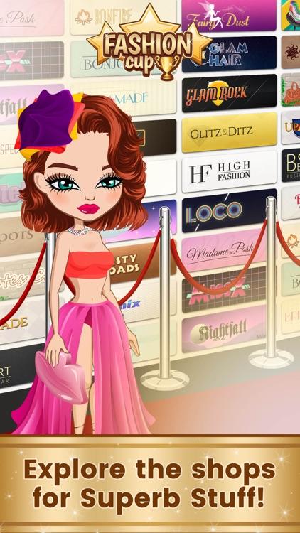 Fashion Cup - Dress up & Duel screenshot-0
