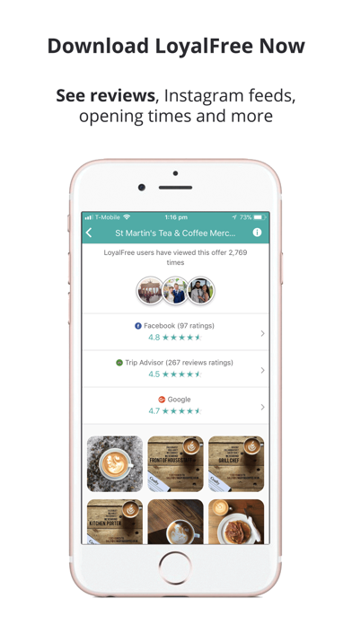 LoyalFree: Find deals & events screenshot two