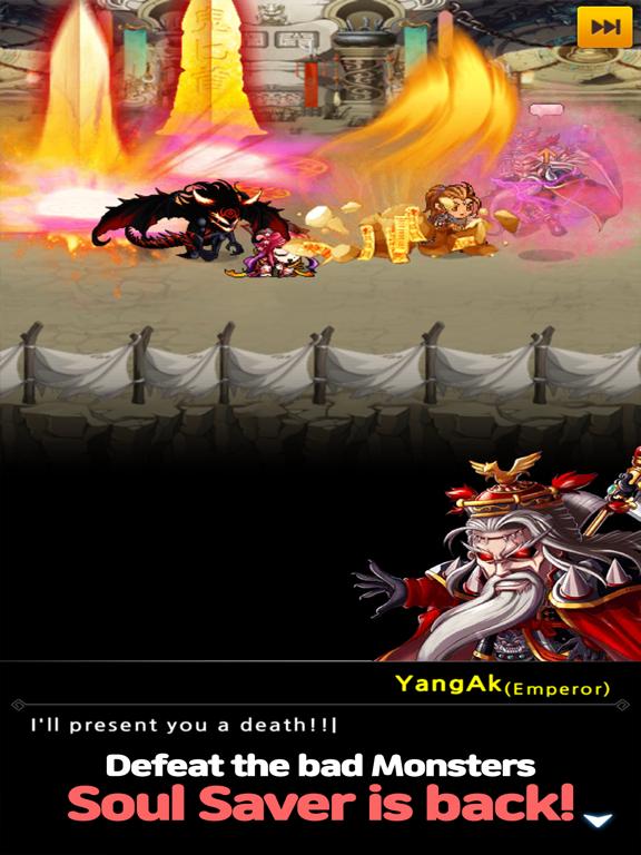 Soul Saver: Idle RPGのおすすめ画像2