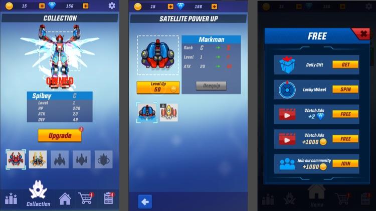 Thunder Fighter Squadron Games screenshot-7