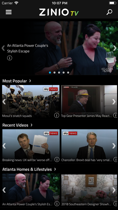 ZINIO TV – Unlimited Videos screenshot two