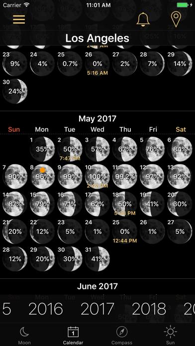 Moon Phases and Lunar Calendarのおすすめ画像2