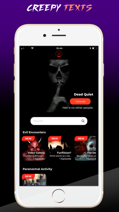 Screenshot for Scary Stories - yOwl - Horror in United States App Store