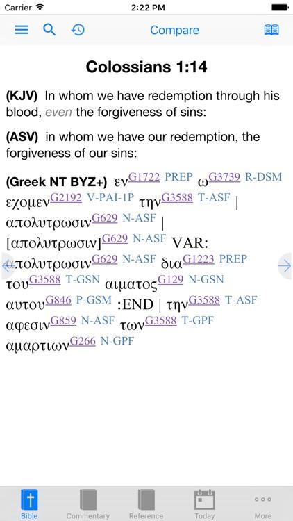 e-Sword LT: Bible Study to Go screenshot-3